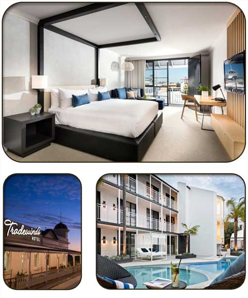 Tradewinds Hotel Fremantle Accommodation