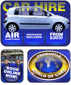 Fremantle World of Cars Fremantle Accommodation