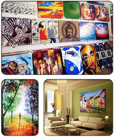 SmartArts Canvas Paintings - Fremantle Accommodation