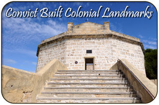 Convict Built Colonial Landmarks in Fremantle, Western Australia