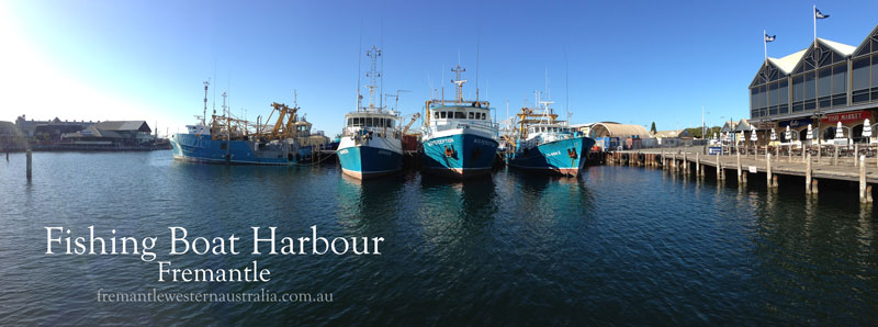 Fishing Boat Harbour, Fremantle, Western Australia