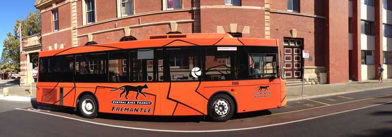 Fremantle CAT Bus Panorama