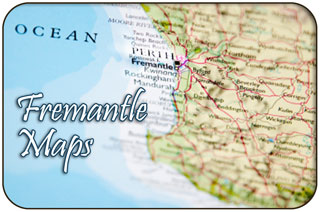 Fremantle Maps - Google Maps of Fremantle