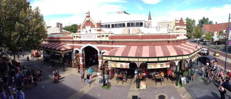 Fremantle Markets Panorama (by Vibodha)