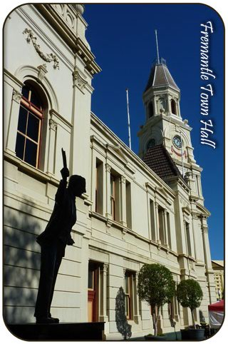 Fremantle Town Hall & Statue of John Curtain, Fremantle