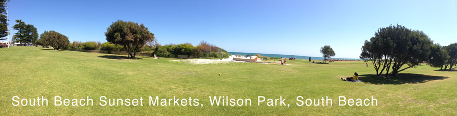 Bathers Beach Panoramic Photograph - Afternoon Sun