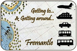 Getting around Fremantle, Western Australia