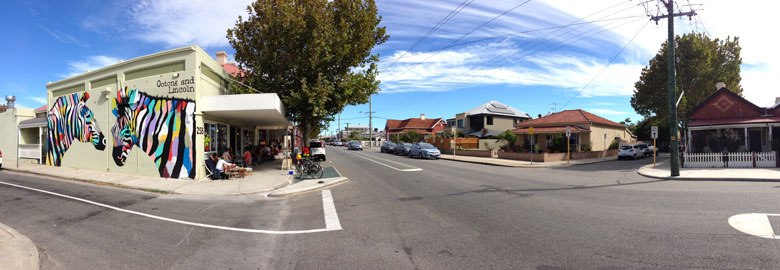 South Fremantle Street View, Western Australia