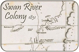 Swan River Colony Map