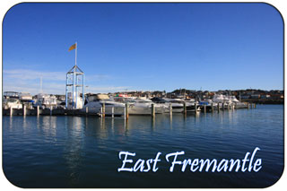 East Fremantle Geography