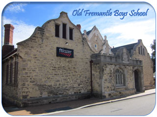 Old Fremantle Boys School, now the Fremantle Film & Television Institute