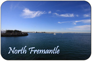 The Port of Fremantle from North Fremantle