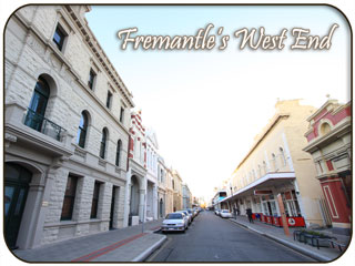 West End of Fremantle, Western Australia