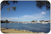 The Swan River, East Fremantle
