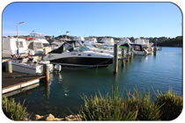 East Fremantle, the river Swan