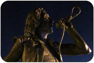 Bon Scott Statue - Fremantle