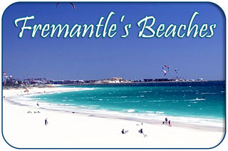 Fremantle Beaches, Beach Map of Fremantle